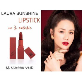 son môi Laura Shushine đỏ cherry - 262