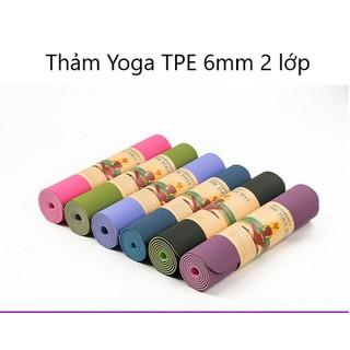 Thảm tập yoga 2 lớp - Thảm tập yoga 2 lớp thumbnail