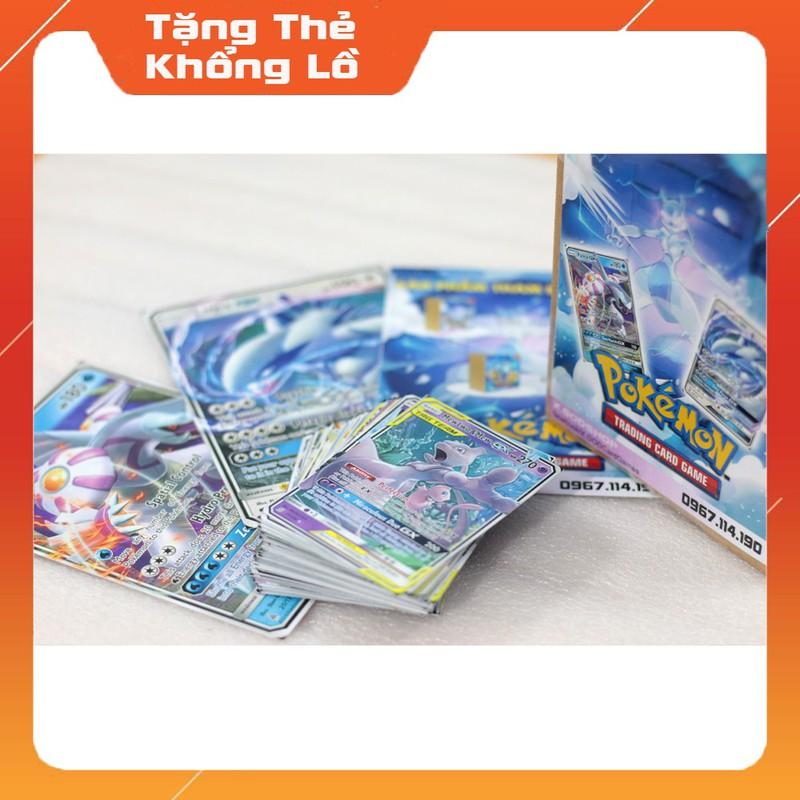 XSD05 Hộp thẻ bài Pokemon 01 siêu cấp Huyền Thoại Mạnh EX, GX, TAGTEAM Ngẫu Nhiên – XSD05