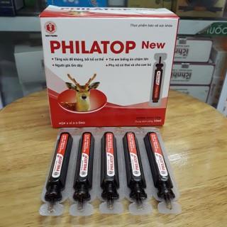 Philatop New - Bổ Sung đạm, các acxit amin - Giup cho trẻ biếng ăn (hộp 20 ống) - Philatop New thumbnail