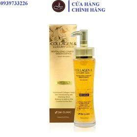[Mẫu mới]Tinh Chất Dưỡng Da 3W Clinic Collagen & Luxury Gold 150ml - Essence 3W Clinic