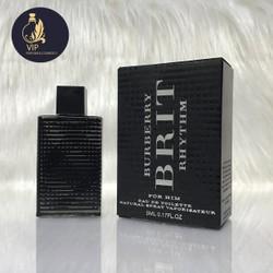 [ mini ] Nước hoa nam chính hãng BURBERRY BRIT RHYTHM FOR HIM EDT 5ml
