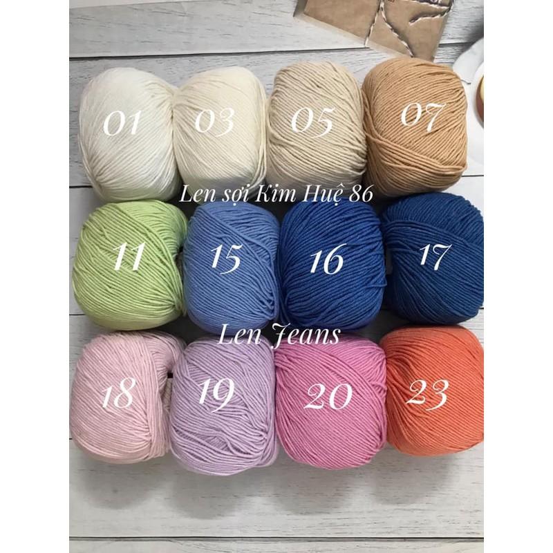 Len Jeans Thổ Nhĩ Kỳ từ màu 58 đến màu 89 – LEN02