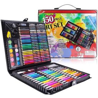 Hộp 150 Bút Màu Đa Năng Cho Bé Tập Vẽ An Toàn Không Độc Hại - H150BM thumbnail