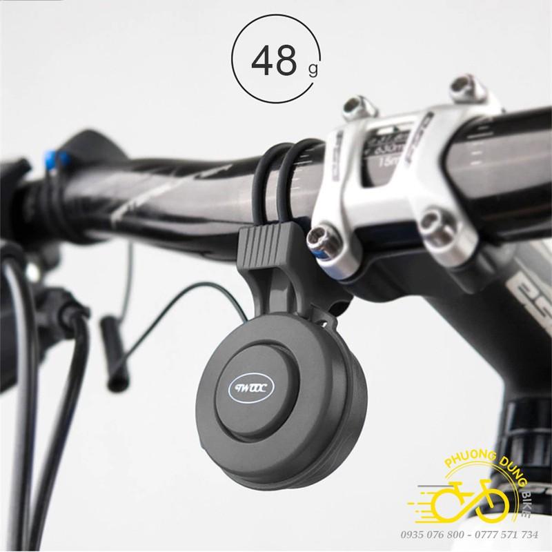 Còi kèn điện cao cấp xe đạp TWOOC T002P sạc usb – 1 âm hú – PK-01402