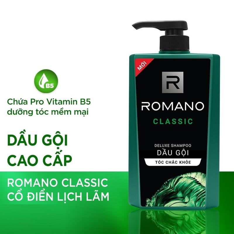 Romano – Dầu gội hương nước hoa Classic 650 gr + Tặng tắm gội toàn thân 2in1 150 gr – 8935212810043.1