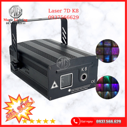 Đèn Laser 7D. K8 - Đèn Sân Khấu