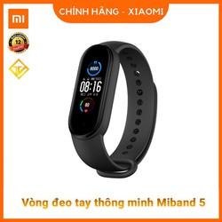 Đồng hồ thông minh Xiaomi Mi Band 5 / Vòng tay theo dõi sức khoẻ Miband 5 - Chống nước - Bảo hành 12 Tháng