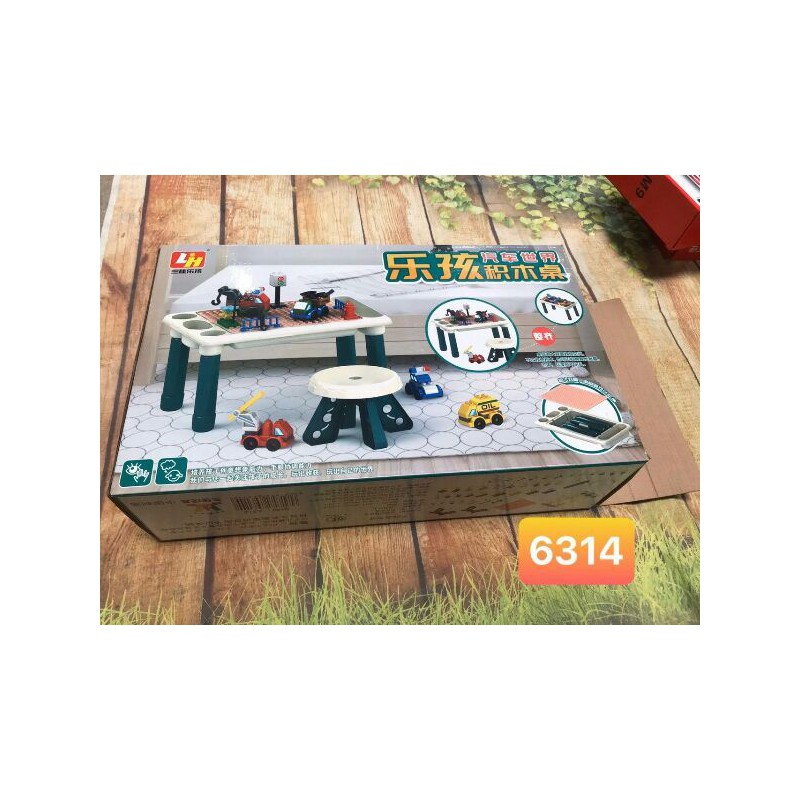 Bộ Ghép lego có bàn ghế cao cấp – k 0122