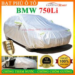 [3 LỚP] Bạt phủ ô tô BMW-750Li CAO CẤP - CHỐNG CHỘM GƯƠNG. NẮNG NÓNG, NƯỚC MƯA - PHUKIENXE, Bạt phủ xe ô tô BMW-750Li, Bạt che ô tô BMW-750Li