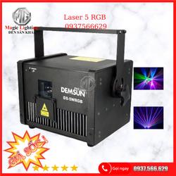 Đèn Laser 5w.RGB - Đèn Sân Khấu