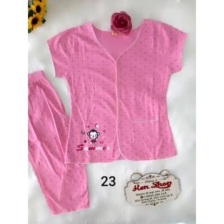 Đồ bộ cotton nữ quần lửng nhiều kiểu - ẢNH THẬT - CHO XEM HÀNG - 172 thumbnail