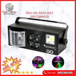 Đèn Laser Karaoke 4 in1 - Đèn Sân Khấu Tphcm