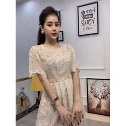 váy ren xinh xinh