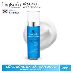 Sữa dưỡng da mặt trắng sáng da Hàn Quốc Lagivado Satin Soft Lotion 120 ml