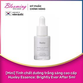 [Mini] Tinh chất dưỡng trắng sáng da cao cấp Huxley Essence Brightly Ever After 5ml - 88094225328MN