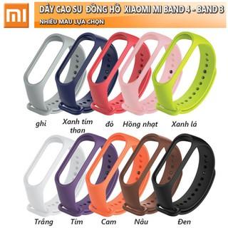 Dây Vòng đeo tay Xiaomi Mi band 4 - OM-DAY-CAO-SU-MI-BAND-3 thumbnail