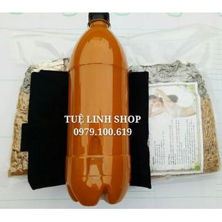set 1 lit cốt gừng nghệ hạt gấc hai kg muối thảo dược tăng đai quấn muối - 205 thumbnail