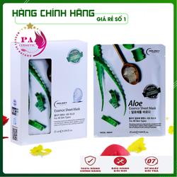[Đắp Là Phê] Mặt nạ dưỡng da - Mặt nạ Giấy Lô Hội cấp ẩm & làm trắng Holikey Hàn Quốc 25ml