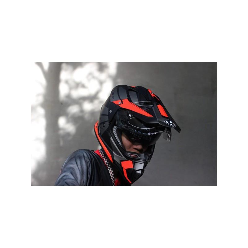 [BÁN SỈ] Mũ bảo hiểm Full.Face Dual Sport Yohe 632A Adventure – Mũ cào cào, chuyên Motor địa hình, PHƯỢT. – Yohe 632A Adventure