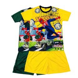 Set 2 Bộ đồ vui chơi ngoài trời cho bé trai và bé gái, bộ đồ thể thao ngày hè dành cho bé trai, trang phục vui chơi ngoài trời cho bé từ 15-34kg - 2 màu khác nhau