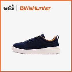 Giày Thể Thao Nam Biti's Hunter Street Washed Navy DSMH01300XNH (Xanh Nhớt)