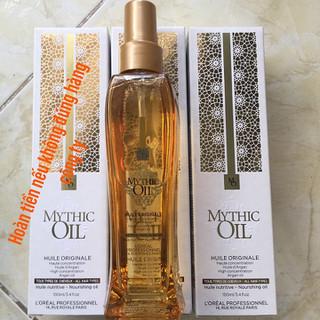 Tinh dầu dưỡng bóng mượt tóc Loreal Mythic Oil Nourishing Serum 100ml - SP48 thumbnail