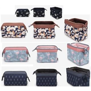 Túi đựng mỹ phẩm cầm tay hoa văn Brahma Flamingo - T0046 thumbnail