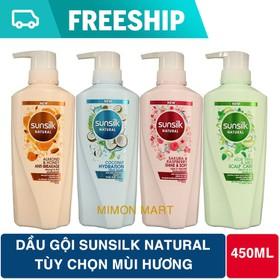 Combo 2 chai dầu gội Sunsilk Natural Thái 450ml mẫu mới nhiều công dụng - 2SUNSILK450