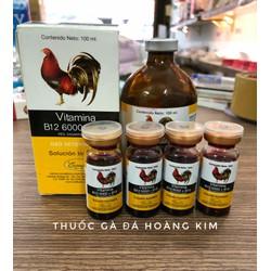 B12 6000 và B15 - Thuốc nuôi tăng nước máu cho gà lọ chiết 10ml