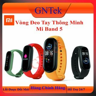 [Sẵn Hàng] Vòng đeo tay thông minh Xiaomi Mi Band 5- Đồng hồ thông minh - Chống nước - XIAOMI BAND 5 - Màu đen - MI BAND 5 thumbnail