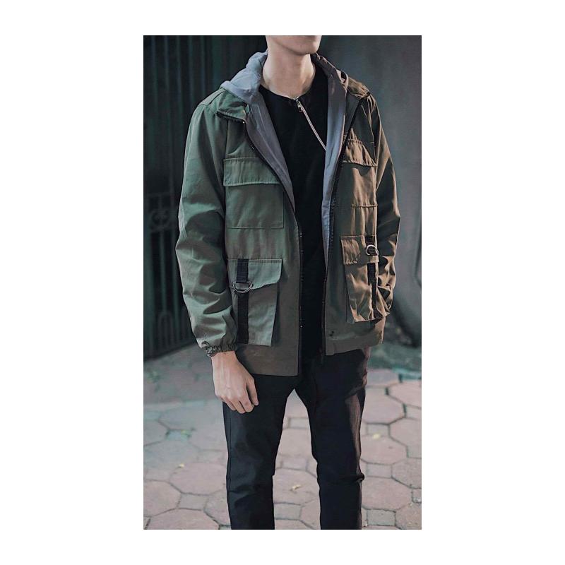 Áo khoác kaki 4 túi nam có 3 màu siêu chất – ao khoac kaki 4 tui