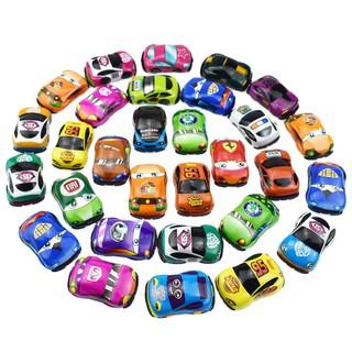 Bộ 30 mô hình xe ô tô mini bánh đà làm đồ chơi cho bé 3 tuổi - New4all - 30xe-M1 thumbnail