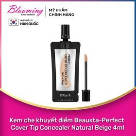Kem che khuyết điểm Beausta-Perfect Cover Tip Concealer 4ml - 8809577460864