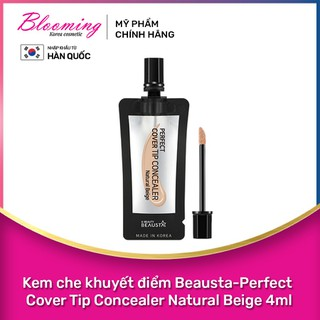 Kem che khuyết điểm Beausta-Perfect Cover Tip Concealer 4ml - 8809577460864 thumbnail