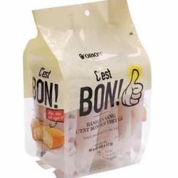 Bánh ăn sáng sợi thịt gà C'est Bon Orion (5 gói x17gr)