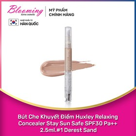 Bút che khuyết điểm Huxley Relaxing Concealer Stay Sun Safe SPF30 Pa++ 2.5ml - 8809422533507