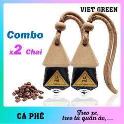 Tinh dầu treo xe Cà Phê - Combo 2 chai