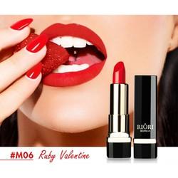 Son Lì Hàn Quốc Riori Matte Lipstick 6 Màu