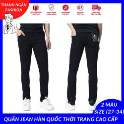 Quần jean nam Hàn Quốc thời trang cao cấp dễ phối đồ mặc được nhiều dịp khác nhau size 28 đến 34 - XMTN05