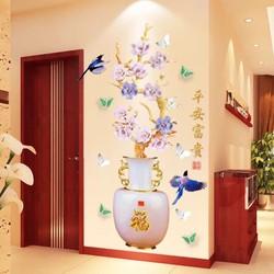 Tranh Dán Tường 3D Siêu Đẹp Phù Hợp Cho Phòng Ngủ Phòng Khách Quán Cafe Nail