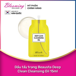 Dầu tẩy trang Beausta Deep Clean Cleansing Oil 15ml - 8809577460789 thumbnail
