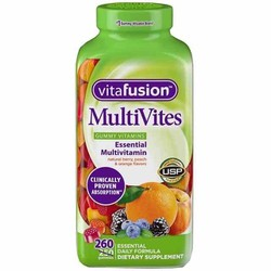 Kẹo dẻo bổ sung vitamin tổng hợp Vitafusion MultiVites 260 viên