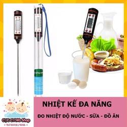 Nhiệt kế điện tử đa năng - đo nhiệt độ nước, sữa, thực phẩm