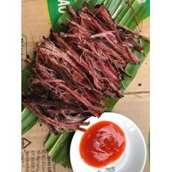 sỉ giá gốc siêu rẻ 100g thịt lợn đen sấy khô - đặc sản tây bắc