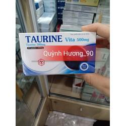 Taurine vita 500mg viên uống bổ mắt
