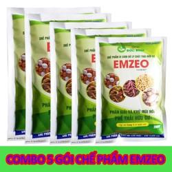 Combo 5 Gói Chế Phẩm EMZEO Khử Mùi Hôi