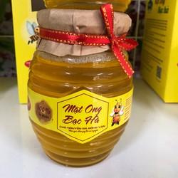 Mật ong bạc hà Hà Giang  350ml  sản phẩm của hợp tác xã