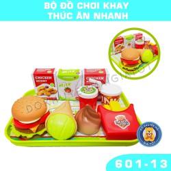 Đồ chơi khay đựng thức ăn nhanh bằng nhựa cho bé nhiều màu sắc 601-13 - Đồ khuyến mãi từ sữa giá tốt