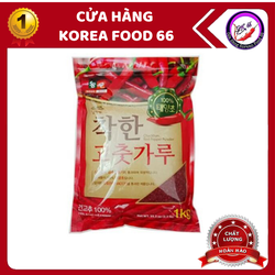 Ớt Bột Hàn Quốc Làm Kim Chi Nong Woo Loại Vẩy 1kg